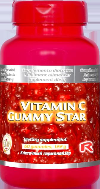 Vitamín C Gummy Star