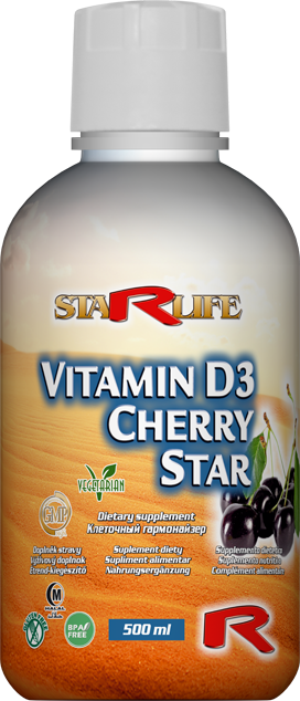 Vitamín D3 Cherry Star
