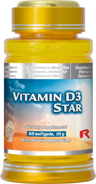 Vitamín D3 Star