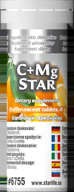 Výživové doplnky - C + Mg Star