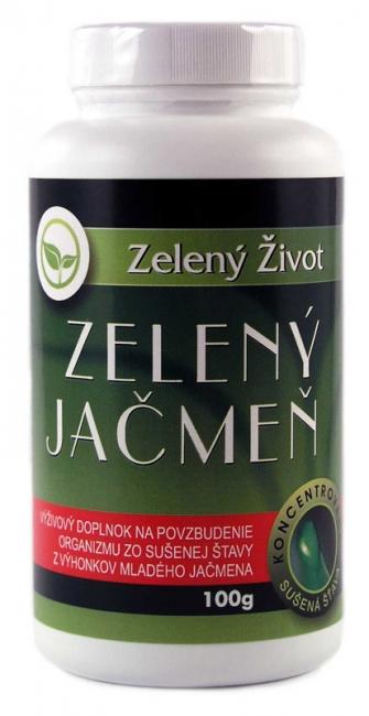 Zelený jačmeň (Mladý jačmeň) 100g